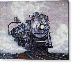 The Mighty Brooklyn 700 Acrylic Print by Edward Ruth