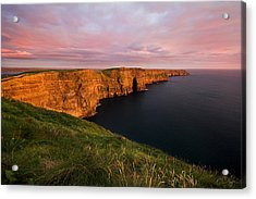 The Mighty Cliffs Of Moher In Ireland Acrylic Print by Pierre Leclerc Photography
