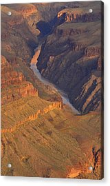 Acrylic Print featuring the photograph The Mighty Colorado by Stephen  Vecchiotti