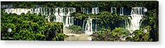 Acrylic Print featuring the photograph The Mighty Iguazu  by Andrew Matwijec