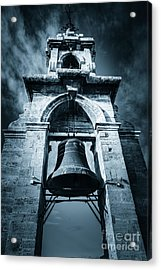 The Miguelete Bell Tower Valencia Spain Acrylic Print