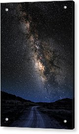 The Milky Road Version Two Acrylic Print