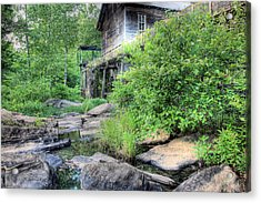 The Mill Acrylic Print by JC Findley