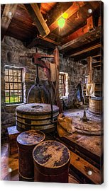 The Milling Room Acrylic Print