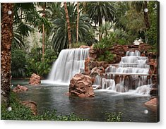 The Mirage Las Vegas Acrylic Print by Dung Ma