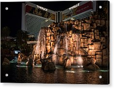 Acrylic Print featuring the photograph The Mirage by Ryan Photography