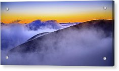 The Mists Of Cloudfall Acrylic Print