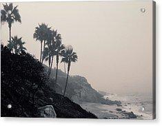 The Mists Of Laguna Beach Acrylic Print