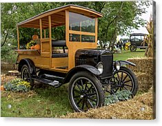 The Model T Pickup Acrylic Print by Capt Gerry Hare