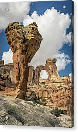 The Molar And Angel Arch Acrylic Print
