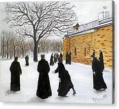 The Monks Of Clear Creek Abby Acrylic Print