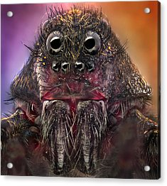 The Monster Acrylic Print by Jorge Fardels