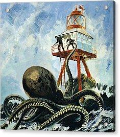 The Monster Of Serrana Cay Acrylic Print