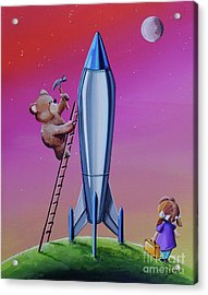 The Moon Mission Acrylic Print