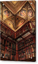 The Morgan Library Corner Acrylic Print