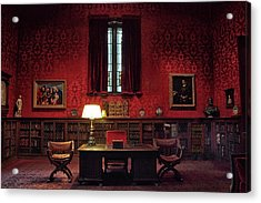 Acrylic Print featuring the photograph The Morgan Library Study by Jessica Jenney