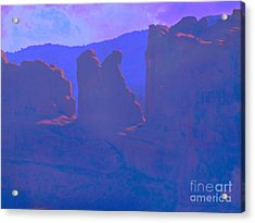 The Morners Acrylic Print by Annie Gibbons