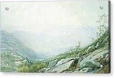 The Mount Washington Range Acrylic Print
