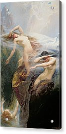 The Mountain Mists Acrylic Print by Herbert James Draper