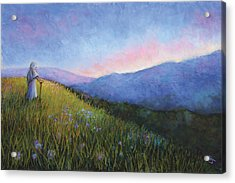 The Mountain Queen Page 6 Acrylic Print