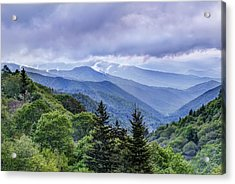 The Mountains Of Great Smoky Mountains National Park Acrylic Print