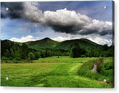The Mountains Of Western North Carolina Acrylic Print by Greg Mimbs