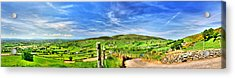 The Mournes Far And Wide Acrylic Print by Kim Shatwell-Irishphotographer