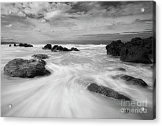 The Movement Of The Waves Acrylic Print