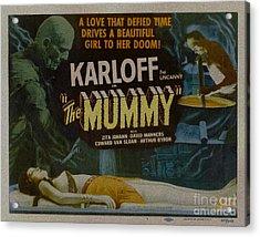 The Mummy 1929 Poster Boris Karloff Acrylic Print