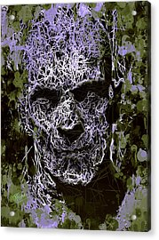 Acrylic Print featuring the mixed media The Mummy by Al Matra