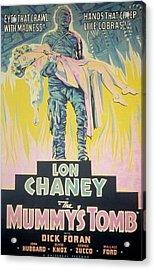 The Mummys Tomb, Lon Chaney, Jr., Elyse Acrylic Print by Everett