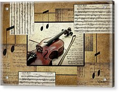 The Music Lover Acrylic Print