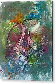 The Music Maker Acrylic Print