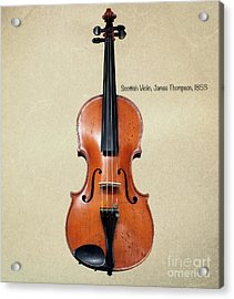 The Music Of 1853 Acrylic Print by Steven Digman