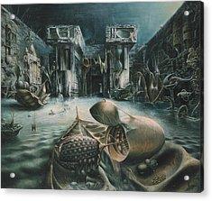 The Mystery Acrylic Print by De Es Schwertberger