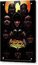 The Mystery Of Chessboxing Acrylic Print