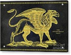 The Mythological Beast Acrylic Print