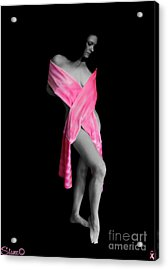 The Naked Truth It Can Happen To You Too Acrylic Print by September  Stone