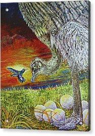 The Nanny Acrylic Print by David Joyner