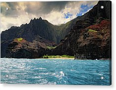 The Napali Coast Acrylic Print