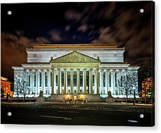 Acrylic Print featuring the photograph The National Archives by Ryan Wyckoff