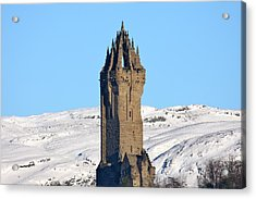 The National Wallace Monument Acrylic Print by RKAB Works