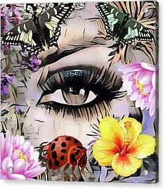 The Nature Girl Acrylic Print