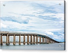 Acrylic Print featuring the photograph The Navarre Bridge by Shelby Young