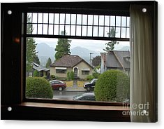 Acrylic Print featuring the photograph The Neighbor  by Bill Thomson