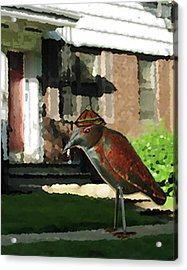 The Neighbor Lady Acrylic Print