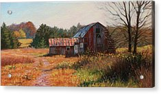 The Neighbor's Barn Acrylic Print