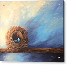 The Nest 2017 Acrylic Print by Torrie Smiley