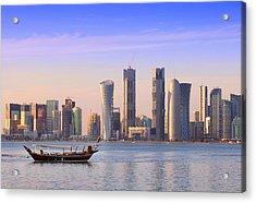 The New Doha Acrylic Print by Paul Cowan
