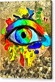 The New Eye Of Horus 2 - Pa Acrylic Print